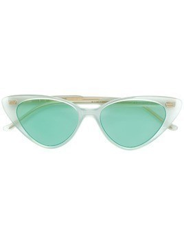 Cutler & Gross cat-eye shaped sunglasses - Green