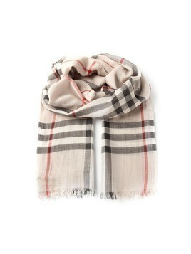 Burberry 'House check' scarf - Nude&Neutrals