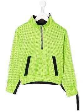 Duo mesh track jacket - Green