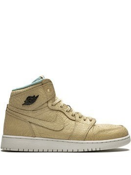 Jordan TEEN Air Jordan 1 Retro Hi sneakers - SAND DUNE/CANNON-FLT GOLD