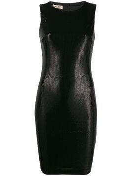 Blanca sleeveless sequin dress - Black