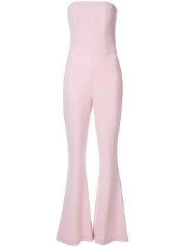 Isabel Sanchis skinny flare jumpsuit - Pink
