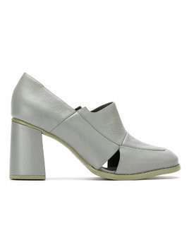 Studio Chofakian leather pumps - Grey