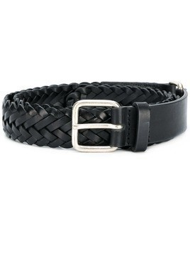 Jean Paul Knott intrecciato buckle belt - Black