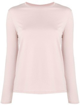 6397 simple sweatshirt - Pink