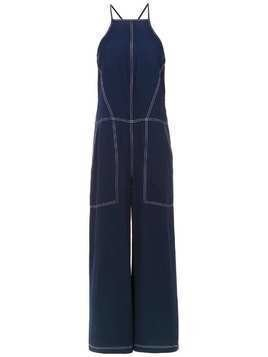 Mara Mac wide leg jumpsuit - Blue