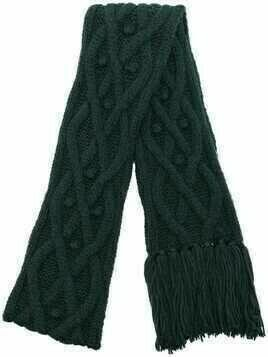 Isabel Marant Florens cable-knit scarf - Green