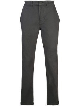 Hudson straight-leg chinos - Grey