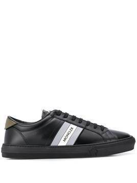 Moncler New Monaco low-top sneakers - Black