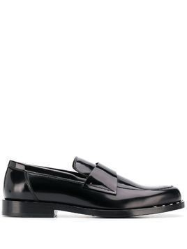 Jimmy Choo Bane star-studded loafers - Black