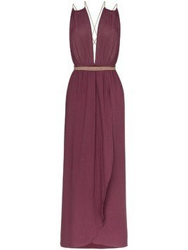 Caravana Nefeli maxi-dress - Purple