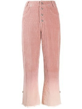 House of Sunny gradient-effect trousers - PINK