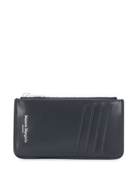 Maison Margiela zipped wallet - Blue