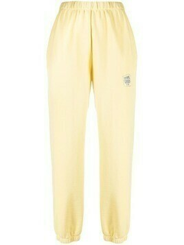 Opening Ceremony warped logo track pants - Yellow