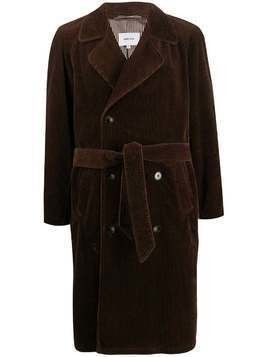 Nanushka double-breasted trench coat - Brown