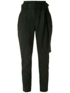 Martha Medeiros high rise skinny trousers - Black