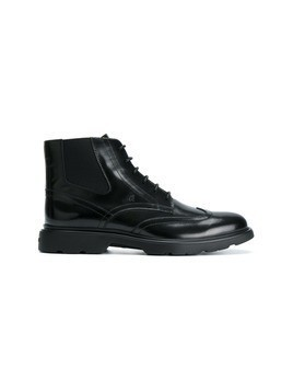 Hogan lace-up boots - Black