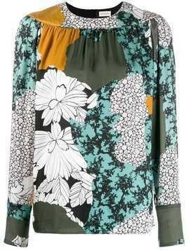 By Malene Birger floral print blouse - Green