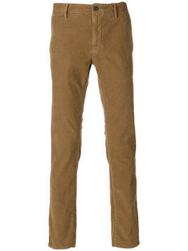 Incotex - slim-fit trousers - Herren - Cotton/Spandex/Elastane - 32 - Brown