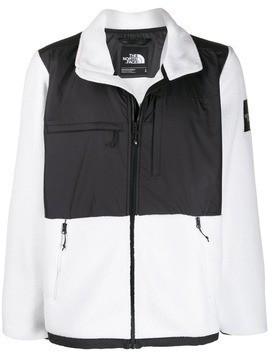 The North Face Denali zip-up jacket - White