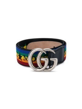 Gucci Kids striped belt - Multicolour