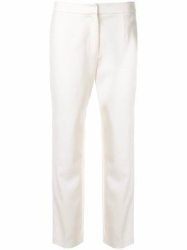 Kuho slim tailored trousers - White