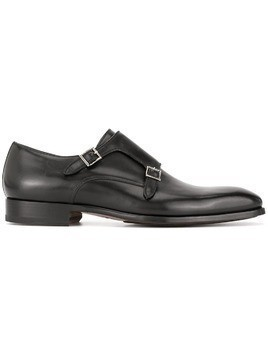 Magnanni monk shoes - Black