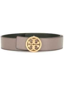 "Tory Burch 1.5"" reversible logo leather belt - GOLD"