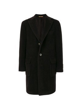 Canali single breasted coat - Black