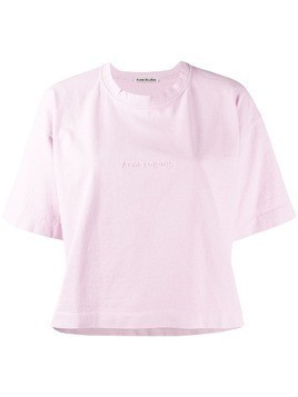 Acne Studios Cylea Emboss T-shirt - Pink