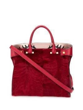 Giancarlo Petriglia Paloma tote bag - Red