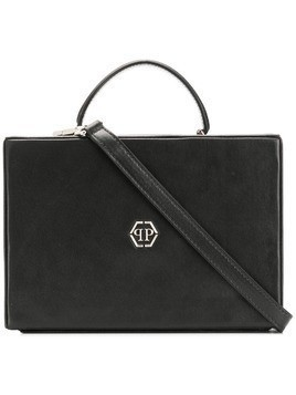 Philipp Plein square tote - Black