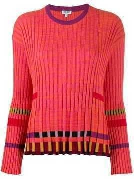 Kenzo ridged knitted top - Pink