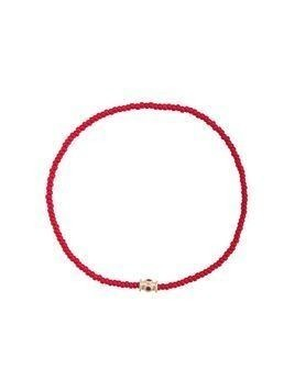 Luis Morais ruby barrel bracelet - Red