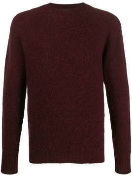 Howlin' Birth of The Cool brushed jumper - Red