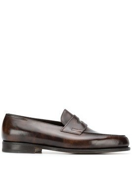 John Lobb Lopez loafers - Brown