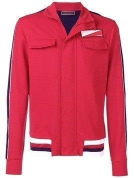 Hilfiger Collection logo patch track jacket - Red