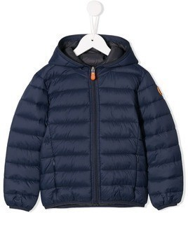 Save The Duck Kids puffer jacket - Blue
