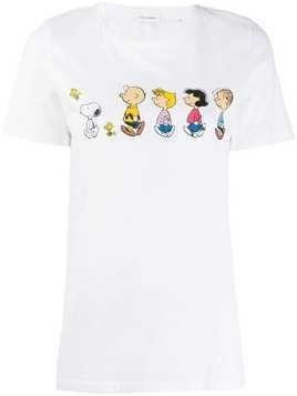 Chinti & Parker Charlie Brown print T-Shirt - White