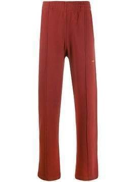 Phipps straight-leg logo track pants - Red