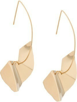 Malaika Raiss twisted disc earrings - GOLD