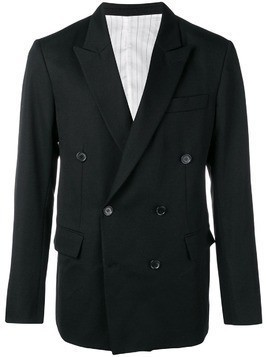 Ex Infinitas Bitterness double breasted blazer - Black