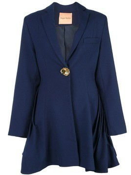Maggie Marilyn fluted oversized blazer - Blue
