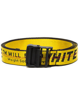 Off-White yellow and black Industrial logo belt - Yellow & Orange