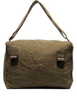 By Walid military-style messenger bag - Green