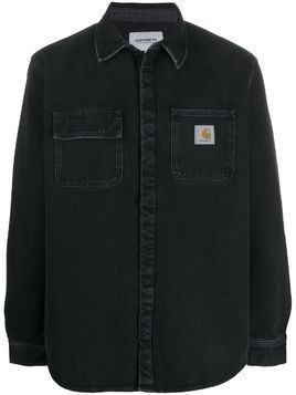 Carhartt WIP Salinac stone-washed shirt - Black