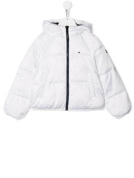 Tommy Hilfiger Junior padded puffer jacket - White