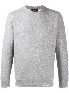 A.P.C. crew neck Spotless sweater - Grey