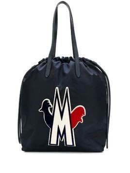 Moncler Flamenne tote bag - Blue