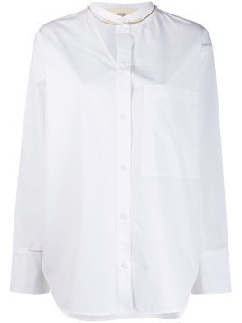 Ports 1961 colour block shirt - White